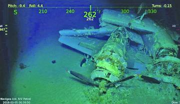 Encuentran en Australia restos de un  portaaviones de la II Guerra Mundial