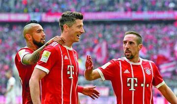 Bayern golea a Hamburgo y está a un paso del título
