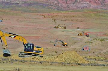 Alcaldía tiene derecho propietario del terreno para fábrica de cemento