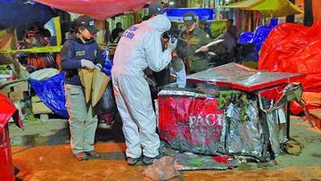 Policía afirma que un psicópata cometió las explosiones en Oruro