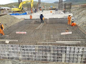 Construcción de fábrica de cemento ya tiene un avance superior al 10 %