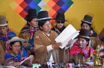 Fiscalía rechaza denuncia contra Huanca en caso Fondo Indígena