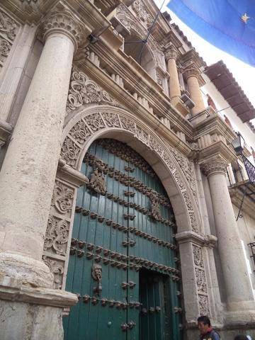Restauran la portada de la Casa de Moneda