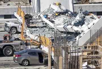 Desplome de puente en EE.UU.provoca seis muertos y heridos