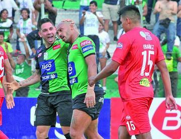 Guabirá cae en picada en el torneo Apertura