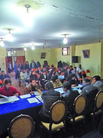 Otorgan 2.516 horas para las escuelas del distrito de Potosí