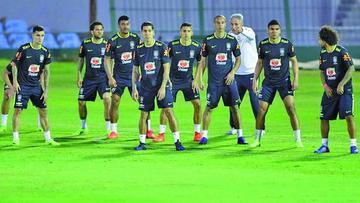 Brasil prepara en Moscú sus partidos amistosos