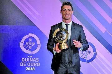 Cristiano Ronaldo es nombrado mejor jugador portugués