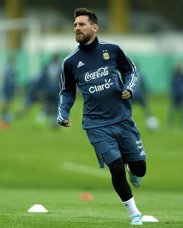 Messi se incorpora a la selección argentina