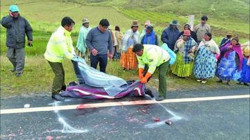 Informe concluye en que un dirigente poncho rojo murió tras ser arrollado