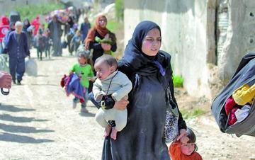 Prevén evacuar hoy a civiles y guerrilleros de Guta en Siria