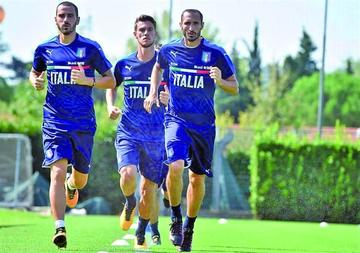 Italia se prepara para jugar con Argentina