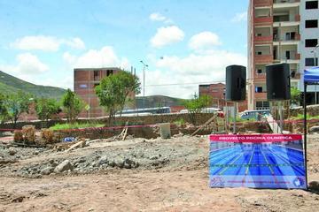 Potosí contará con piscina olímpica de competición