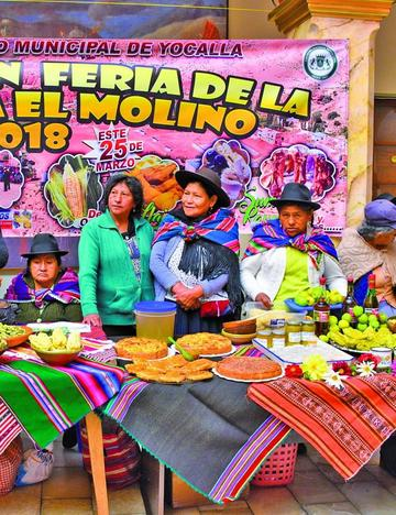 Feria de la manzana será el domingo 25 en El Molino
