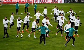 Alemania y España disputan un amistoso de alto nivel