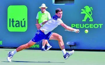 Djokovic cae en su primer partido en Miami