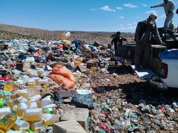 Destruyen varios productos no aptos para el consumo
