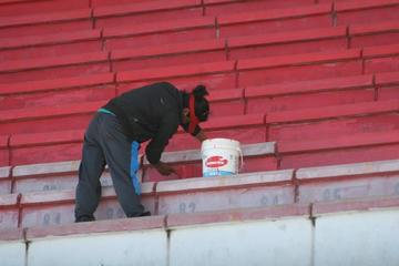 Mejoran el estadio para la Copa Sudamericana