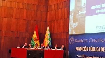 El BCB dió Bs 34.144 millones en créditos a cinco firmas estatales