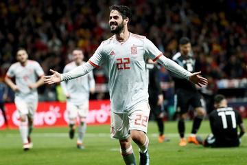 España golea 6-1 a Argentina