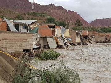 Las riadas destruyeron 145 viviendas en todo el Departamento