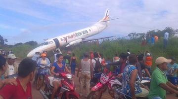 DGAC suspende a la tripulación de la empresa Amaszonas por incidente