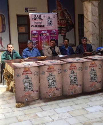 Presentan el XXII Festival Potosí Cuna del Charango