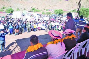Inician la construcción de 35 viviendas para los damnificados de Tupiza