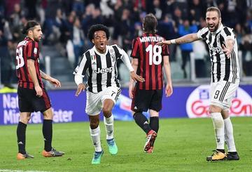 Juventus vence 3-1 a Milan