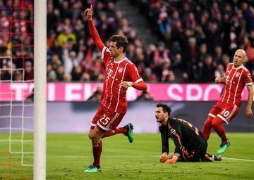 Bayern se calienta para el duelo contra Sevilla