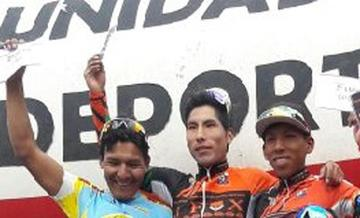 Potosinos dominan el ciclismo boliviano