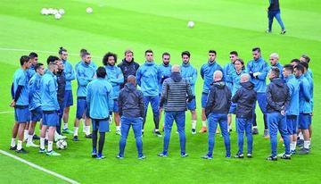 Real Madrid se mide a Juventus