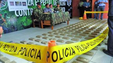 La Fuerza Antinarcóticos halla marihuana en el techo de la cárcel de Tarija