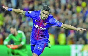 Barcelona golea 4-1 a Roma