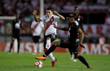 River Plate empata sin goles con Santa Fe