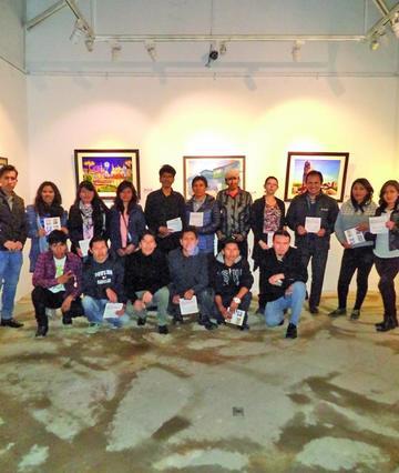 Abre muestra arte joven de artistas de Potosí y Puno