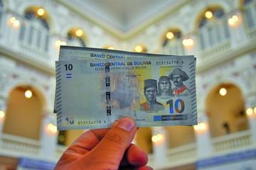 Afirman que los nuevos billetes le valdrán al BCB 38 millones de dólares