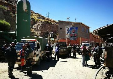 Explosión en la mina de Huanuni deja ocho muertos y 15 heridos