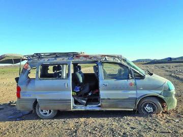 Una persona fallece tras un accidente en la carretera