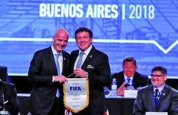Conmebol pide un Mundial con 48 equipos