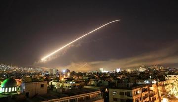 EE.UU. y sus aliados perpetran ataques a Siria con bombarderos