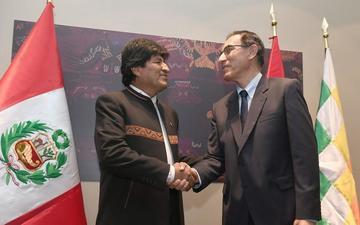 Evo: gabinete peruano boliviano será en Cobija el 3 de septiembre