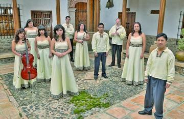 Ensamble  potosino va al festival de Chiquitos