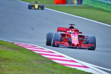 Vettel sale primero en el Gran Premio de China