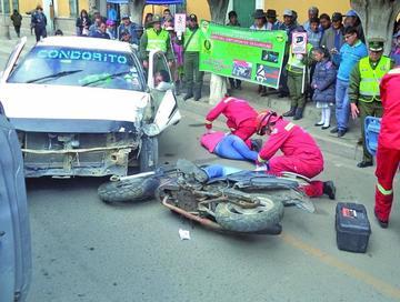 Quieren evitar más accidentes en Potosí