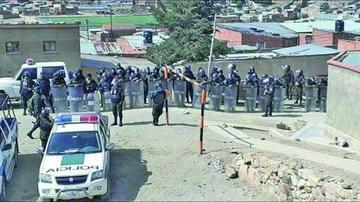 Huanuni: operativo concluye con 3 detenidos por robo de mineral