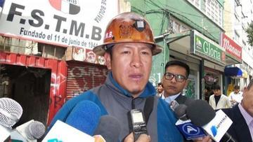 Gutiérrez: trabajadores definirán si se militariza Huanuni