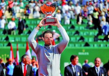 Rafael Nadal se hace dueño de Montecarlo