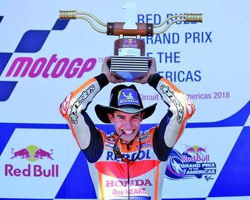 Márquez gana el Gran Premio de Austin de MotoGP
