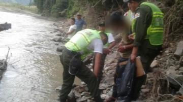 Un hombre lanzó a su hijastra de cinco años a un río en La Asunta